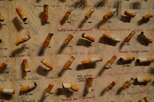 угарки от цигари