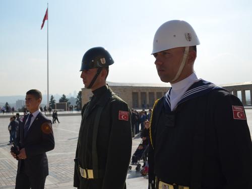 Анкара, войник