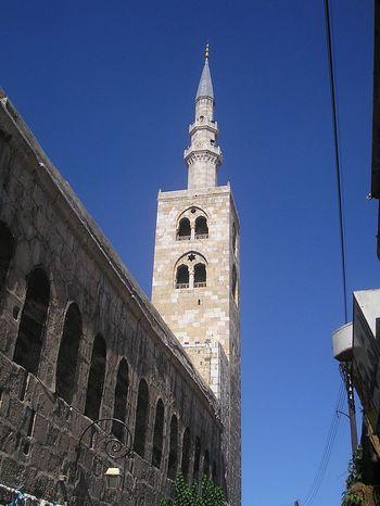 Минарето на Пророка Исус в Дамаск
