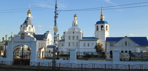 Одигитриевския църковен комплекс, основан през 18-ти век