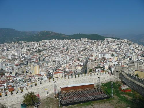 Кавала - изглед от крепостта