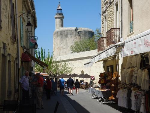 Кулата-фар в крепостта Ег Морт