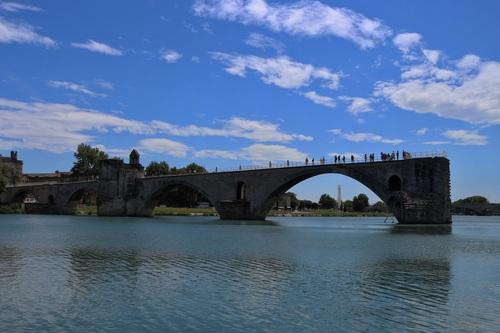 Авиньон, мост Saint Benezet