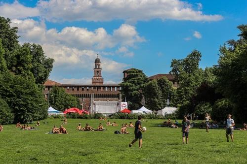 Милано, парк Семпионе