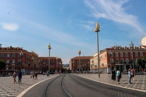 Ница, площад Масена