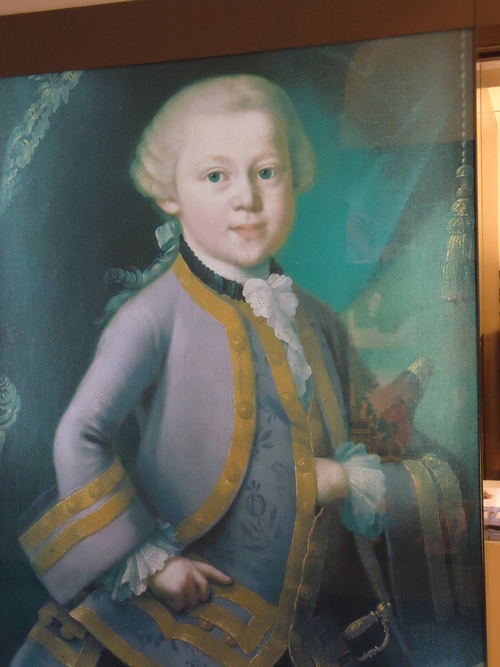 Маслен портрет на 6-годишния гений
