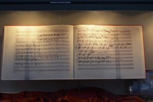 Партитура,изписана от ръката на Маестрото