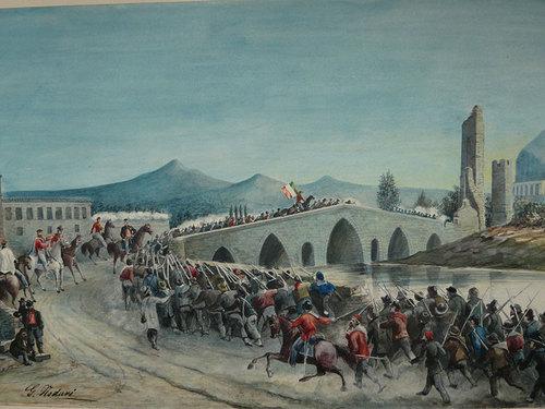 Адмиралтейският мост (Ponte dell Ammiraglio) на река Орето