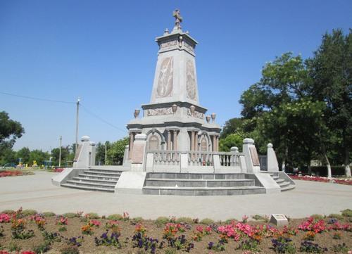 Болград: паметникът на българските опълченци, сражавали се в Руско-Турската война 1977-1878