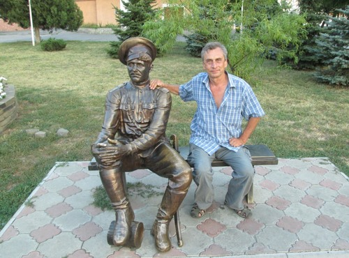 Авторът в Новочеркаск