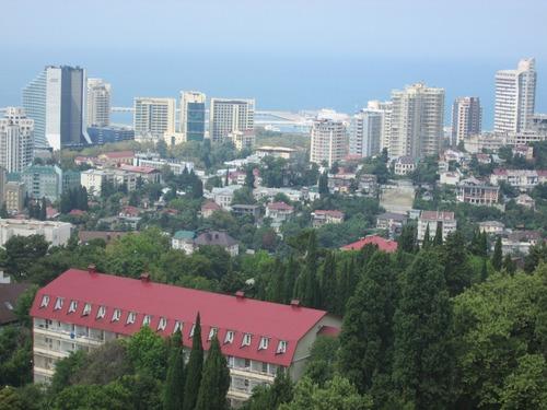 Панорамен поглед към Сочи