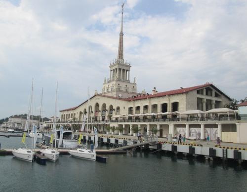 Пристанището на Сочи