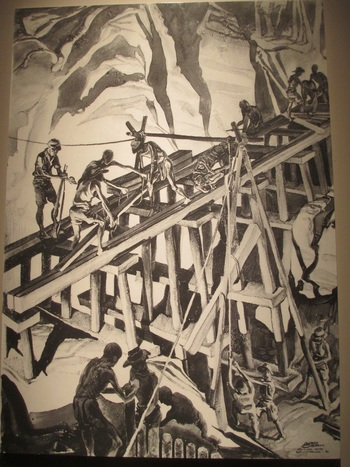 Строителството на моста