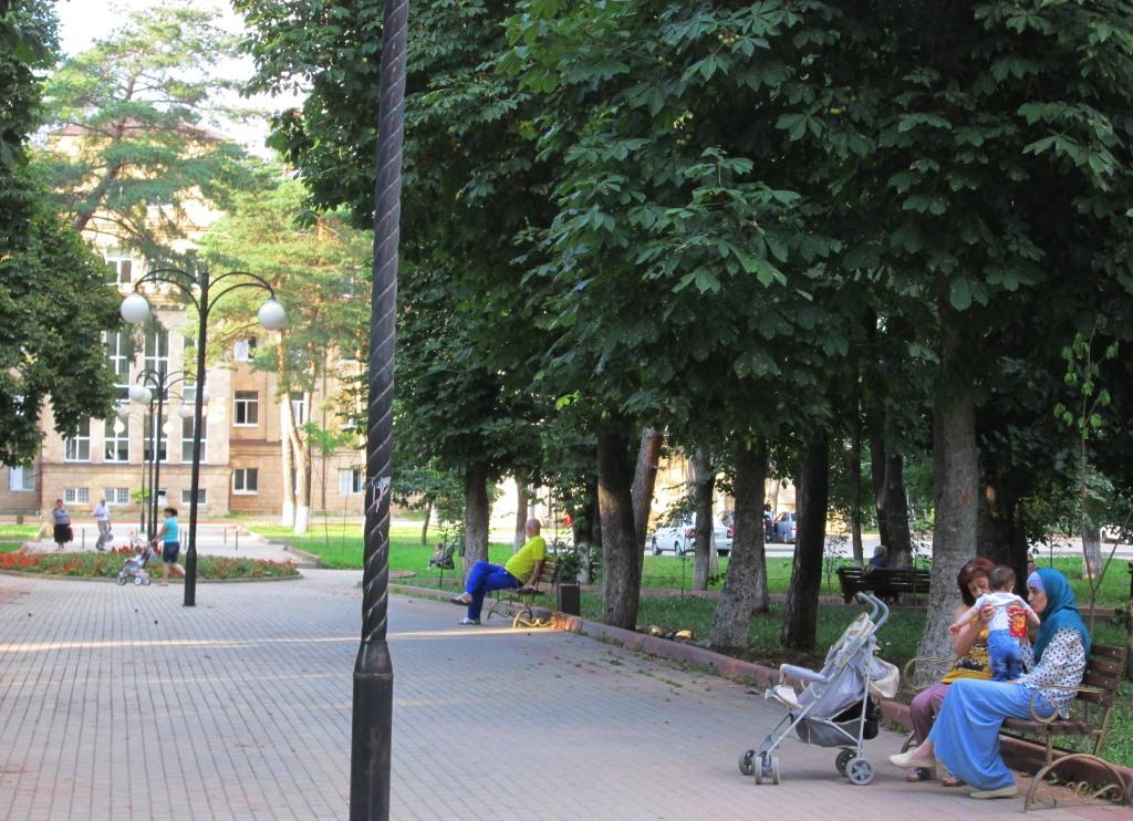 В градския парк на Карачаевск