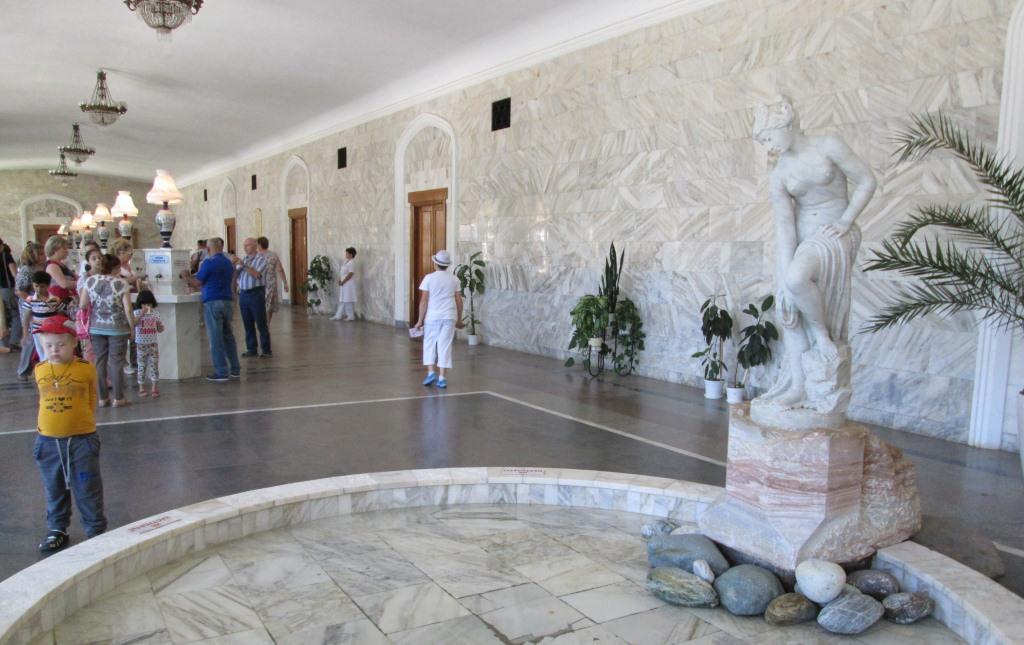 Зала за пиене на минерална вода в Кисловодск