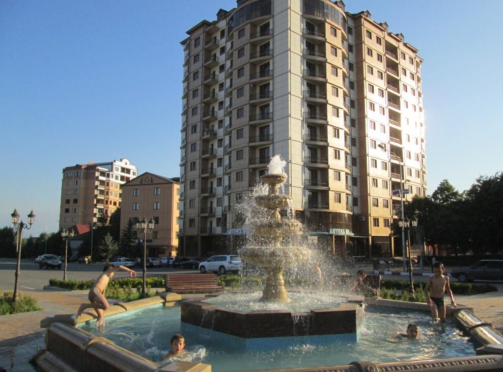 В центъра на Назран