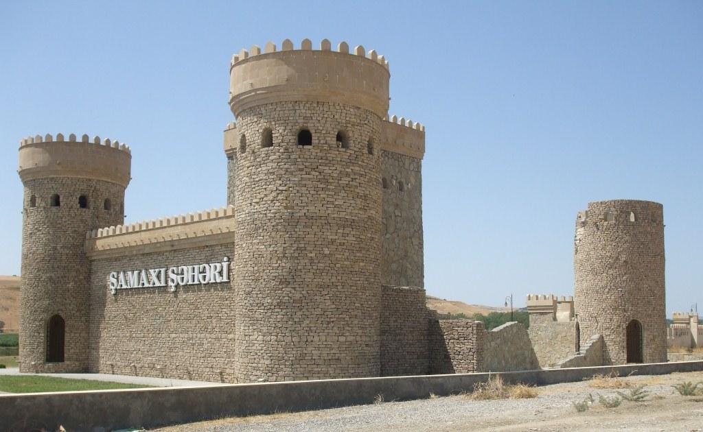 Реставрираната крепост в Шемахи